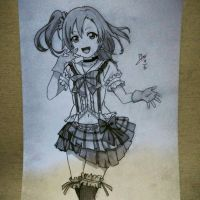 Love Live Honoka by Percy-IceW