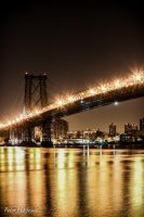 Pretty Williamsburg Bridge by peterjdejesus