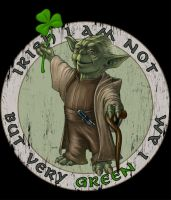 Yoda is not irish by kohse