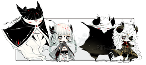[CLOSED] ADOPT AUCTION 189 - Shadowmonster by Piffi-adoptables