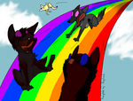 Rainbowcoster by catgreat