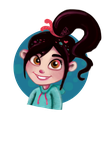 Princess Vanellope by Smiley1starrs