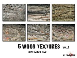 6 WOOD TEXTURES VOL.II by PatriciaSaavedra
