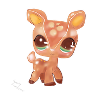 [LPS] Deer~ by CunningScarecrow