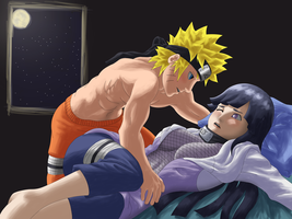 Under the Moonlight - NaruHina by Xeolan