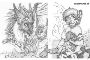 Xmas card sketches 04 by guyver47