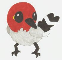 Fletchling by Alice-of-Africa
