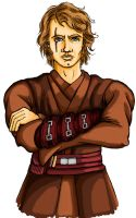 Anakin Skywalker by bloodredsandman