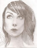 Megan Massacre Sketch by spratsanime