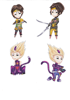 CL Chibi Sets - Ulrich and Odd by Concepts-by-Kei