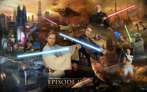 Star Wars Episode II - Attack Of The Clones by 1darthvader