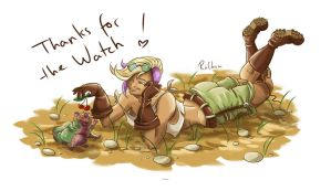 Thanks for the Watch ! by RoChou