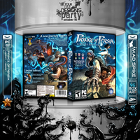 Prince Of Persia Box Art by MadSpike