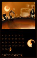 October Calendar 2 by Malici0us