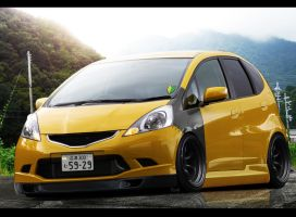 Hein: Honda Fit JDM by Kofelstofel