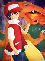 pkmn : red by konsensya