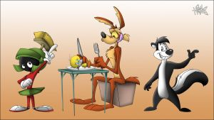 Looney Toonage by ElectricDawgy