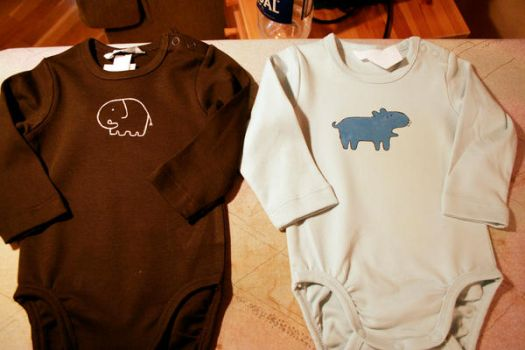 two new baby suits. by minkan