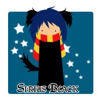 wee sirius by LittleDogStar