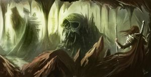 The Scull Caverns by RaymondMinnaar