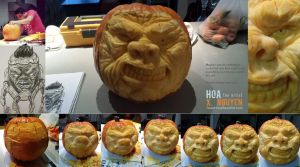 MODOKpumpkin by Hoabert