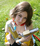 Yuna gunner cosplay by usagiChan6