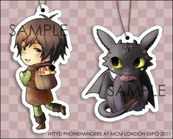 +HTTYD phonehangers MCM+ by goku-no-baka