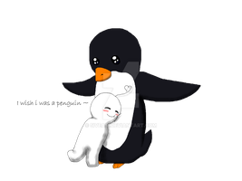 Cry and Penguin by 5iveAM