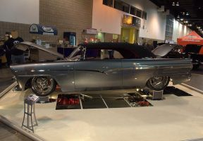 1956 Ford Sunliner Convertible by Razgar