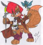 Sally Taur Cosplay - Colored by dragonheart07