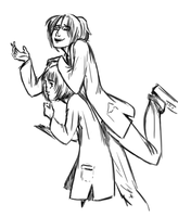 K-science Armin and Hanji by alden-r