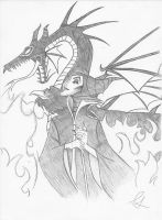 Maleficent by PeterPansShadow13