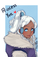Princess Yue by ShaniNeko