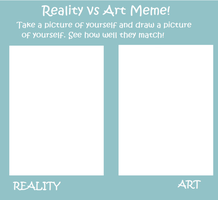 Reality vs Art meme by MusicalSweetie