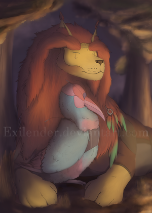 Campfire by Exilender
