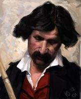 Master study - Portrait of a man by RogierB