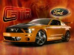 Mustang GT-R Concept by johnnyvegas