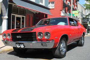 Red 1970 Chevelle SS #1 by SwiftysGarage