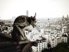Gargoyle from Notre Dame by BoGHY23