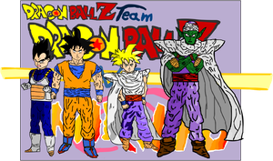 DBN Dragonball team by BANGDK