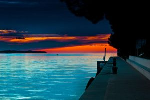 Sunset in Portorose by ErikVodopivec
