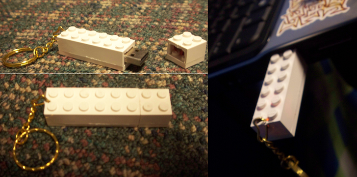 Lego Flash Drive by ASAOK
