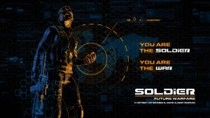 Soldier HD Wallpaper 2 by Poser96