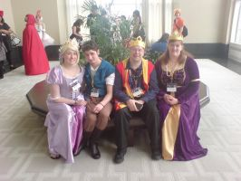 Tangled cast AB 2014 by Dragonrider1227