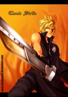 FVII:AC Cloud Strife by smallsushi
