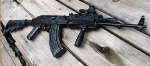 Tactical AK47 by CorsairSX