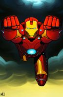 Iron Man by MasonEasley