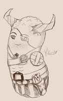 Iron Bull Potato by Kiorria