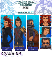 Dissidia Aces Cycle 03 Prelim by Starcanis