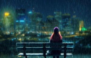 .Rainy night. by Pure-Poison89
